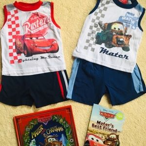 Lightening McQueen 18 month bundle